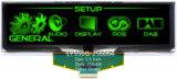 5,5 pulgadas 256x64 Mono verde Módulo OLED (PG-5664ASGGF01).