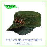 暗いデニムの軍の刺繍の野球のスポーツの帽子