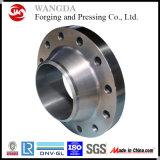 Bride augmentée à haute pression du collet ASTM B381 Wnrf de soudure de face