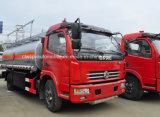 De Tankwagen van de Brandstof van de Wielen van Dongfeng 4X2 6 8000 Liter van de Vrachtwagen van de Olietanker voor Verkoop
