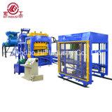 自動Qt10-15具体的な空のブロック、固体煉瓦、機械を作る連結のペーバー