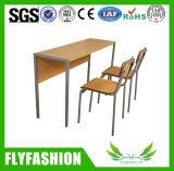 새로운 디자인 간단한 작풍 나무로 되는 학교 가구 학생 책상 및 의자 (SF-11D)