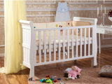 Base di bambino di legno della castella del bambino di colore bianco (M-X1021)