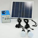 Power Solution 20W Solar Home System Execute DC Fans e conjuntos de TV