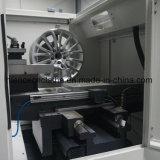 저가 CNC 합금 바퀴 변죽 수선 선반 다이아몬드 절단 바퀴 기계 Awr28h