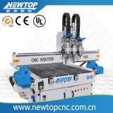 Hölzerne Arbeits-CNC-Fräser-Maschine