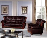 Dubai-ledernes Sofa-Möbel-Weinlese-Leder-Sofa 818