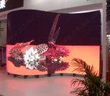 P5.95 экран дисплея полного цвета изогнутый СИД для напольного /Indoor