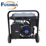 Générateur d'essence de qualité de M6500e 5kw avec le monophasé à C.A., le 220V et la couverture