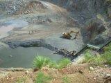 Bomba de alta presión del sumergible del drenaje de mina del receptor de papel profundo