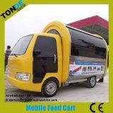 Mobile remolque para venta de alimentos del desayuno