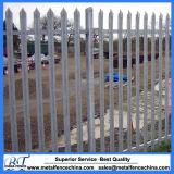 Cerca de acero galvanizada de calidad superior de la palizada de D y de W