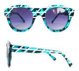 De beste Goedkope Kleurrijke Kleur van de Vrouw Sunglasses/Any