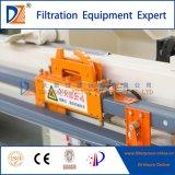 2017 PLC Municiple Prensa Filtro de membrana de las aguas residuales de la serie 1250