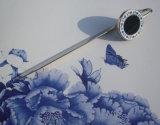 Blaues und weißes Porzellan-Bookmark