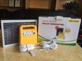 sistema de energia solar portátil de 5W 10W 20W 30W 40W 50W para o uso Home