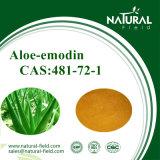 Polvere CAS dell'Aloe-Emodina dell'estratto della Vera dell'aloe: 481-72-1