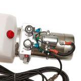 Hydraulikpumpe-Verstärkeranlage einzelner verantwortlicher Speicherauszug-Schlussteil Gleichstrom-12V 6 Quart mit entfernter Station