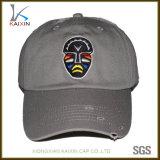 El algodón personalizado angustiados lavado desgastado Papá Hat Gorra de béisbol