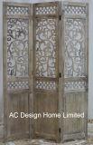 Sjofele Elegant graveert de Antieke Uitstekende Houten Verdeler van de Zaal van het Scherm