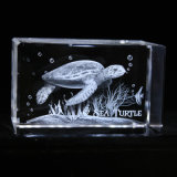 Láser 3D Crystal regalo promocional