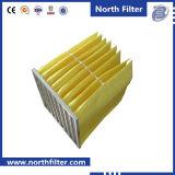 Средств воздушный фильтр мешка для системы центрального кондиционирования воздуха вентилируя