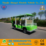 8 vendite dirette della fabbrica delle sedi dell'automobile facente un giro turistico elettrica verde