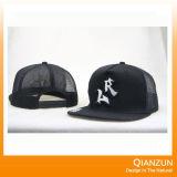 5つのパネルの革ロゴパッチの急な回復の野球帽