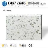 白い光っているガラス水晶石のための試供品