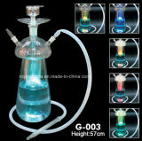 LED를 가진 신식 Clear Mazaya All Glass Hookah