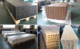 Les graines en bois/panneaux composés de plastique en bois solides gravants en relief de Decking de la configuration WPC/