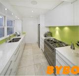 流行の高い光沢のある白いラッカー終わりの食器棚(BY-L-70)