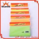 Promotion Note adhésive personnalisée ordinaire colorés pour cadeau (SN005)