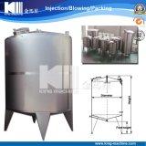 El tanque de almacenaje del acero inoxidable de la etapa del alimento (por orden)