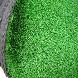 Herbe artificielle d'horizontal vert normal de la meilleure qualité