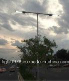 Brazos de doble LED 45W de luz de la calle con 8 metros de la Pole