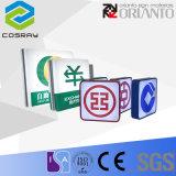 Boîte à lumière acrylique gaufré (EL06)