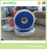 """PVC Flexible Plastic Industrial Water Supply und Discharge Layflat Hose Pipe 4 """""""