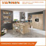 Popular para el diseño de madera de los muebles de la cabina de cocina de la chapa del mercado de Canadá