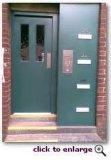 30/60/90/120 di porta antincendio d'acciaio certificata UL di minuti