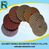 Romatools 다이아몬드 닦는 패드는 사용 500#를 말린다