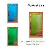 Cabine de sauna infrarouge lointain économique et durable (I-006)