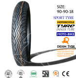 Neumático 90/90-18 Tt Tl del deporte del neumático del neumático de la motocicleta de la moto