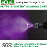 Покрытие порошка крокодиловой кожи электростатического брызга пурпуровое