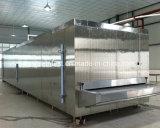 Congelador líquido quente da correia do túnel de congelação rápida da venda para China