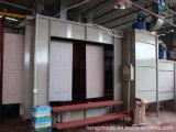 Ligne d'enduit automatique de poudre pour des portes