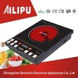 Bajo precio y el botón pulsador único quemador cerámico de infrarrojos utilizados para cualquier utensilio de cocina