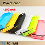 4200mAh External USB Haven Power Bank, Charger Backup Battery Case voor iPhone 5 5s 5c