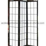 Disegno piegante di legno dello schermo dello Shoji delle sezioni cinesi di stile giapponese 3 & dei divisori semplicemente