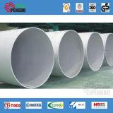 Tubulação de aço sem emenda inoxidável de ASTM A312 Hr&Cr